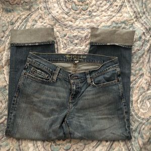 Abercrombie & Fitch size 4 Jeans Cuffed